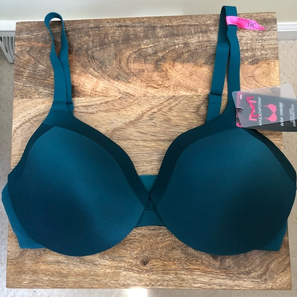 7e9d8d37ba MAIDENFORM TEAL BLUE COMFORT DEVOTION T-SHIRT BRA